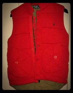 Mens Polo Ralph Lauren vest